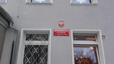 cyklinowanie podłogi w Przedszkolu nr 11 w Warszawie