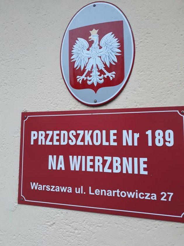 cyklinowanie podłogi w Przedszkolu nr 189 w Warszawie