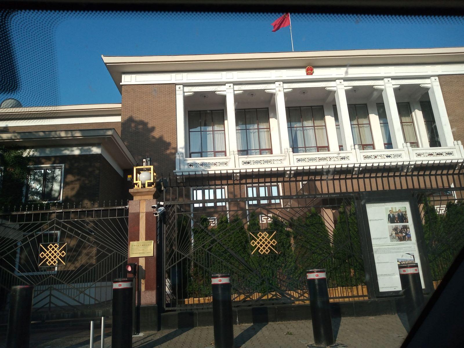 Ambasada Chińskiej Republiki Ludowej Renowacja Parkietu